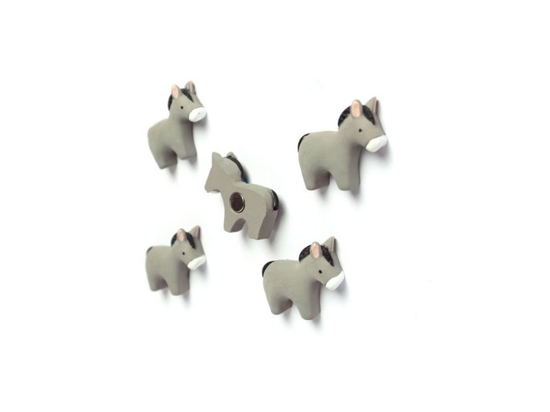 Trendform Trendform Magnets Donkey - set of 5 - strong