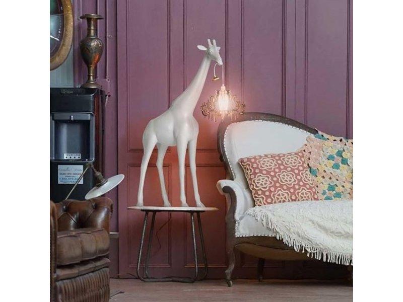 Qeeboo Qeeboo Lampadaire Girafe in Love XS - blanc