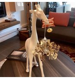 Qeeboo Qeeboo Floor Lamp Giraffe in Love XS - white