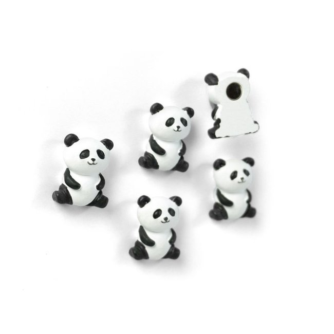 Trendform Magneten Panda - set van 5 - sterk