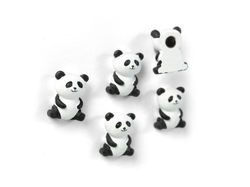 Trendform Trendform Magneten Panda - set van 5 - sterk