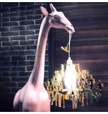 Qeeboo Qeeboo Vloerlamp - Staanlamp Giraffe In Love XS - dusty roze