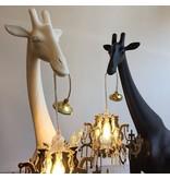 Qeeboo Qeeboo Floor Lamp Giraffe in Love XS - black