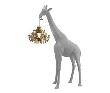 Floor Lamp Giraffe in Love XS - cold sand