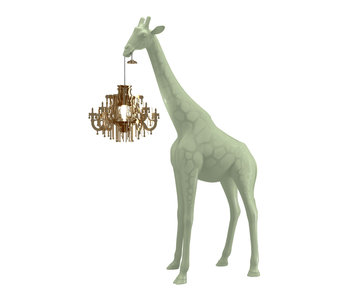 Floor Lamp Giraffe in Love XS - warm sand