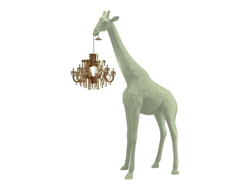 Qeeboo Qeeboo Floor Lamp Giraffe in Love XS - warm sand