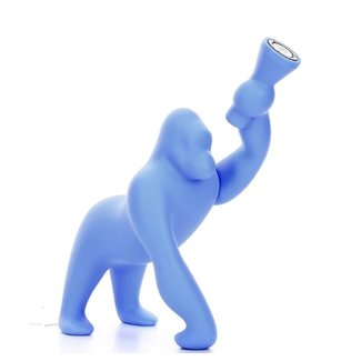Qeeboo Lampe Kong XS - bleu clair