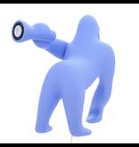 Qeeboo Qeeboo Lampe de sol ou de table Kong XS - bleu clair H 70 cm