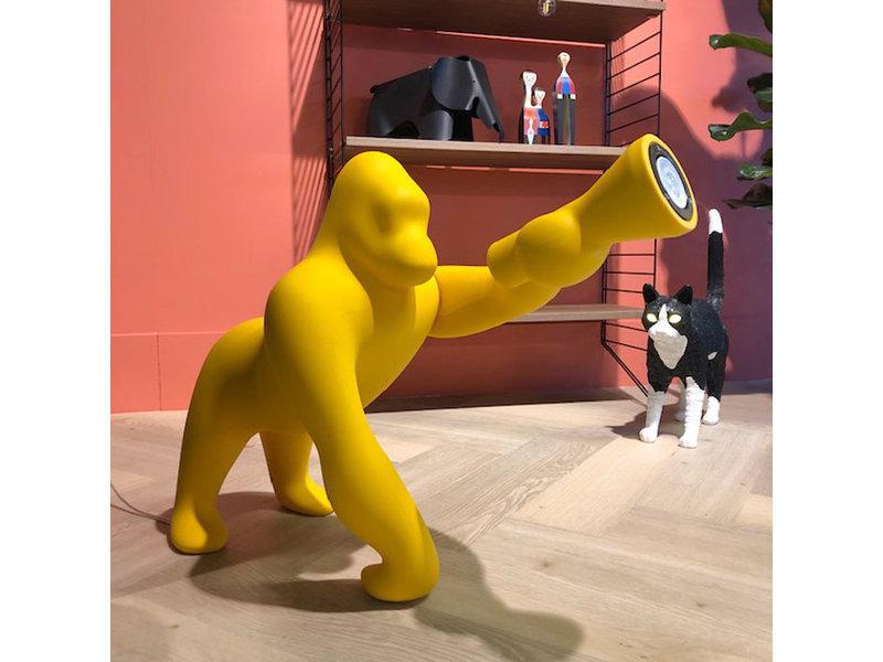 Qeeboo Qeeboo Floor Lamp - Table Lamp Kong XS - yellow H 70 cm