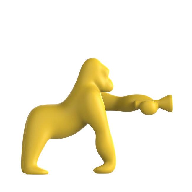 Qeeboo Vloerlamp - Tafellamp Kong XS - geel H 70 cm