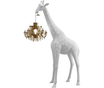 Floor Lamp Giraffe in Love XS - white