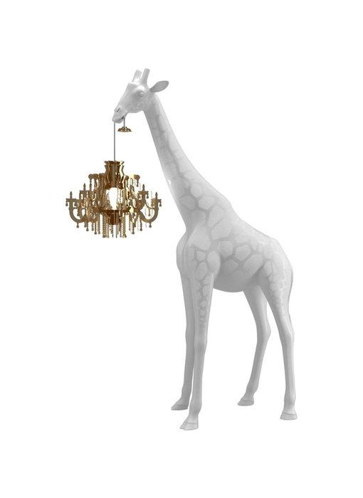 Vloerlamp Giraffe In Love XS - wit