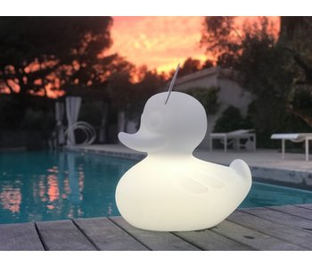 Duck Duck Lamp XL white - color changing