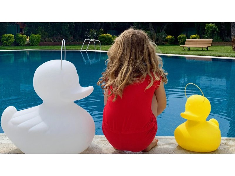 Goodnight Light Duck Duck Lamp XL wit - color changing