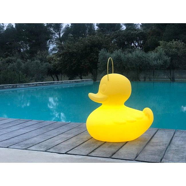 Goodnight Light Duck Duck Lampe XL gelb - Farbwechsel
