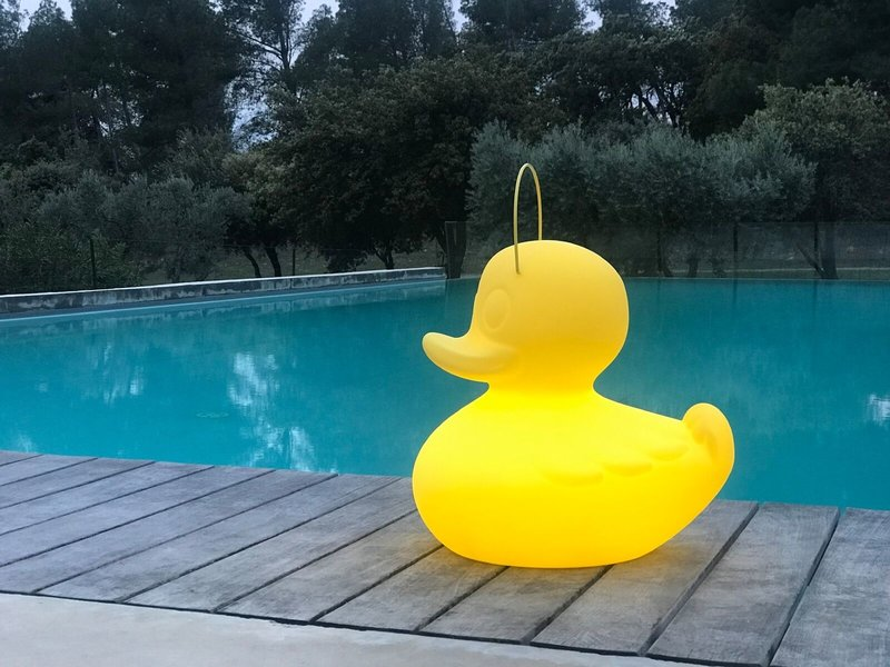 Goodnight Light Duck Duck Lamp XL geel - color changing