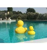 Goodnight Light Lampe Duck Duck - small jaune - changement de couleur