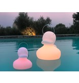 Goodnight Light Duck Duck Lamp - small white - color changing