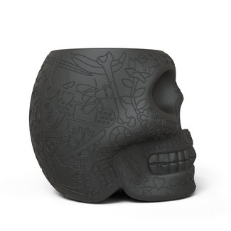 Qeeboo Tabouret - Table d'Appoint Mexico - noir