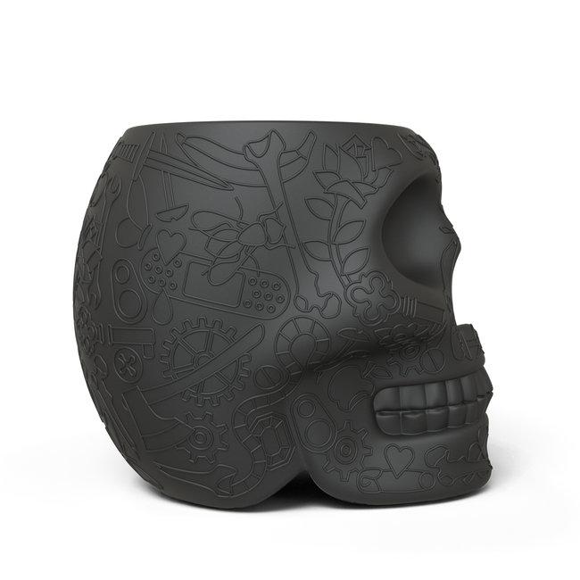 Qeeboo Kruk - Bijzettafel Mexico - zwart