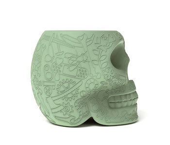 Stool - Side Table Mexico - green