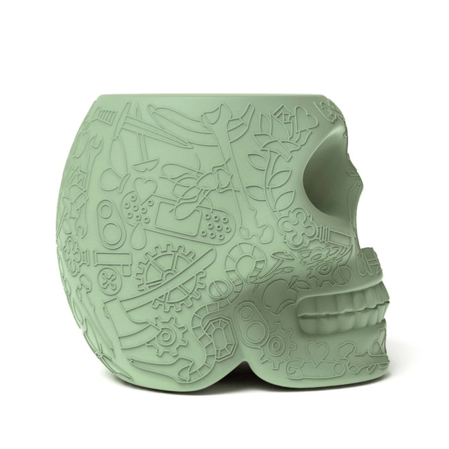 Qeeboo Stool - Side Table Mexico - green
