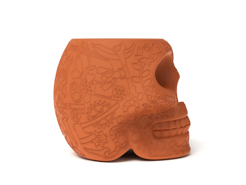 Qeeboo Qeeboo Tabouret - Table d'Appoint Mexico - terracotta