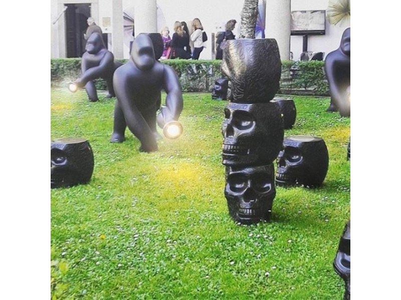 Qeeboo Qeeboo Kruk - Bijzettafel Mexico - zwart