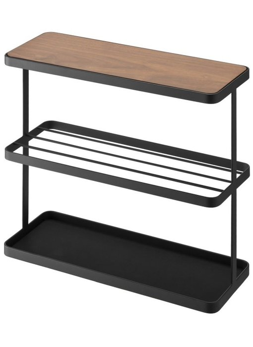 Side Table Tower - black