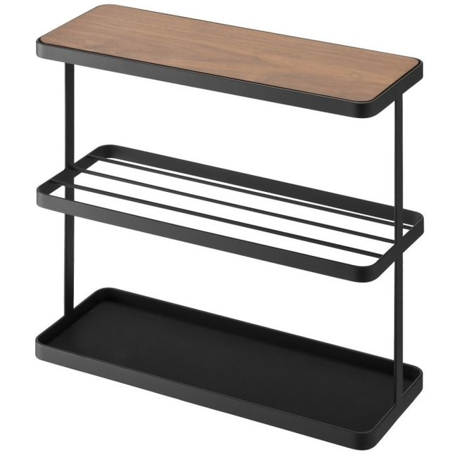 Yamazaki  Side Table Tower - black