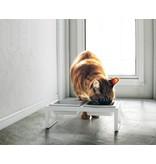 Yamazaki  Yamazaki - Pet Food Bowl Cat - white - two-piece
