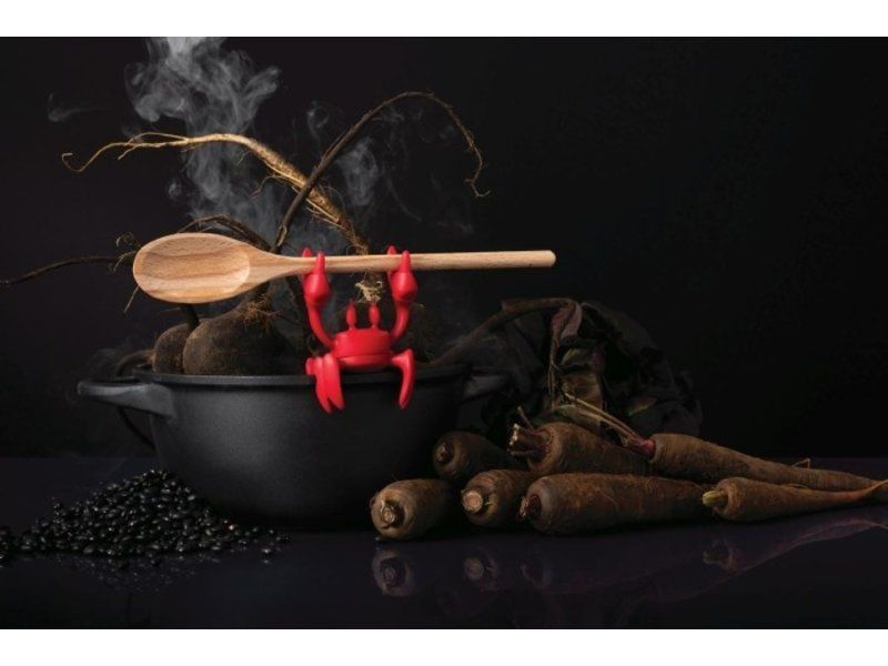 Ototo Ototo Lepelhouder - Stoom Aflater Red Crab