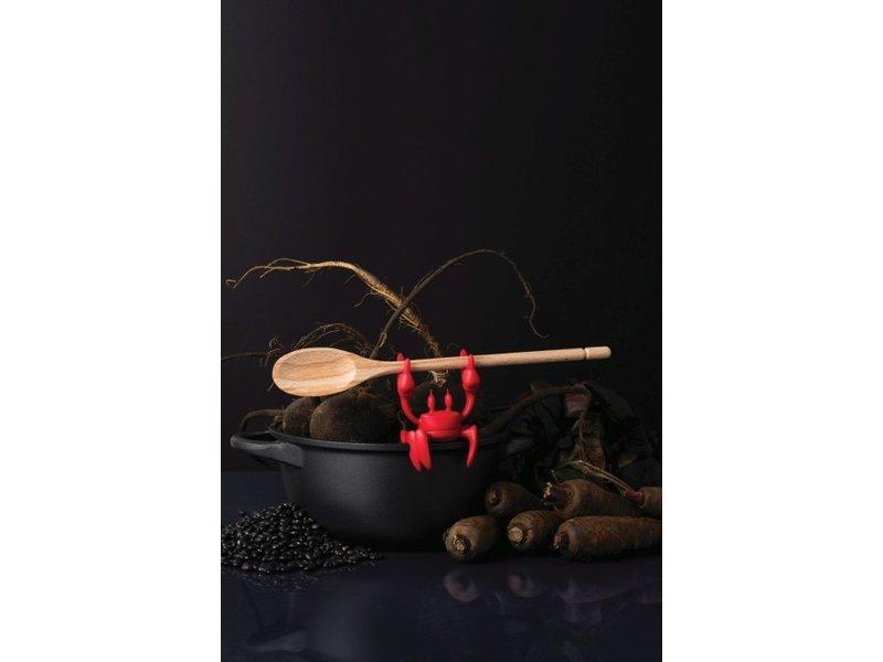 Ototo Ototo Spoon Holder - Steam Releaser Red Crab
