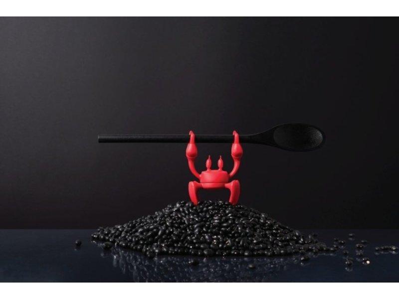 Ototo Ototo Porte-Cuillère - Libérateur de Vapeur - Crabe Rouge