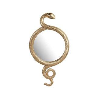 &klevering Wandspiegel Slang - goud