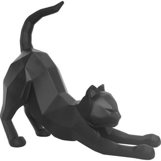 Present Time Statue Origami Cat