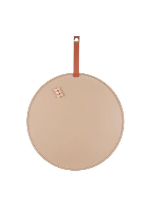 Tableau Magnétique Perky - brun sable
