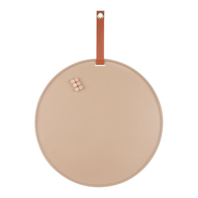 Present Time Magnetic Board Perky  - sand brown