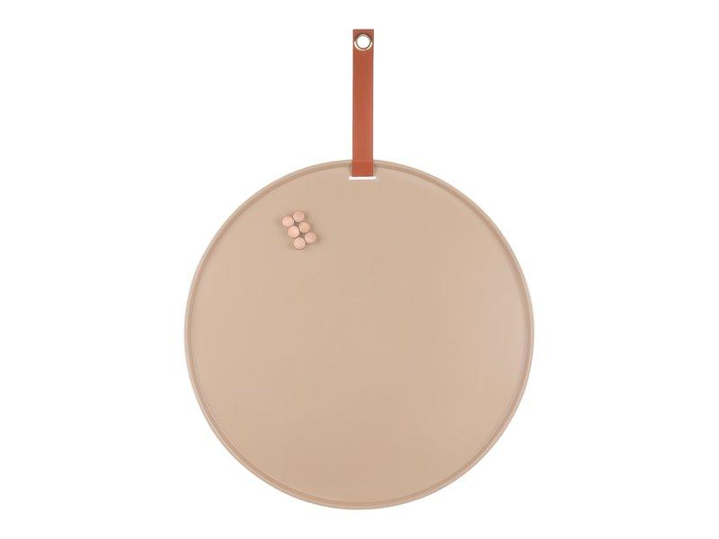Present Time Present Time - Magneetbord Perky - zandkleur - 50 cm