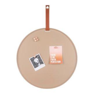 Present Time Tableau Magnétique Perky - brun sable