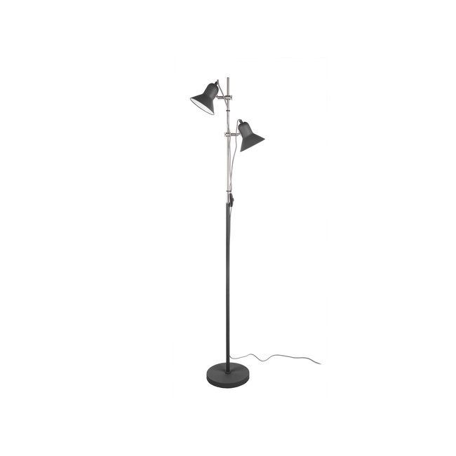 Leitmotiv Vloerlamp Slender - zwart