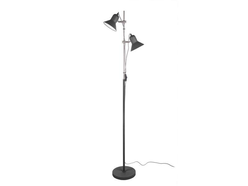 Leitmotiv Leitmotiv - Vloerlamp Staanlamp Slender - zwart 153 cm