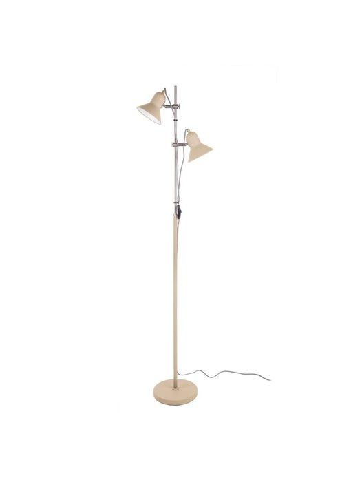 Floor Lamp Slender - sand brown