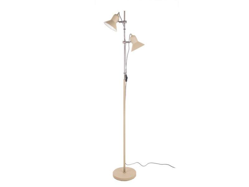 Leitmotiv Leitmotiv - Vloerlamp Staanlamp Slender - zandbruin 153 cm