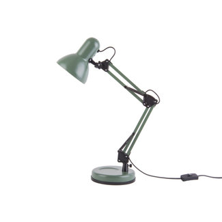 Leitmotiv Desk Lamp Hobby - matt green