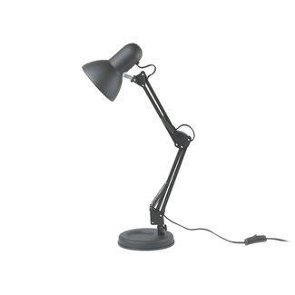 Leitmotiv Lampe de Bureau Hobby - noir mat
