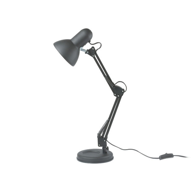 Leitmotiv Bureaulamp Hobby - mat zwart