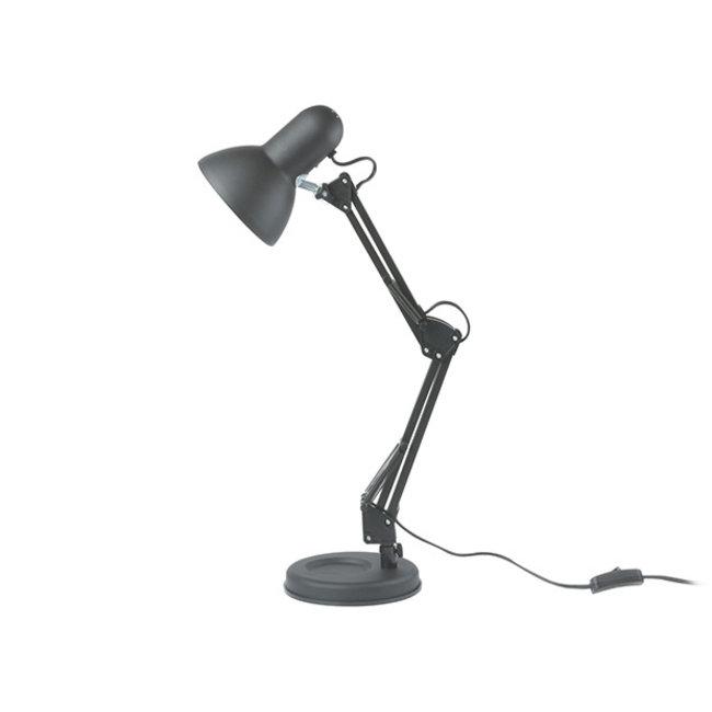 Leitmotiv Tafellamp - Bureaulamp Hobby - mat zwart