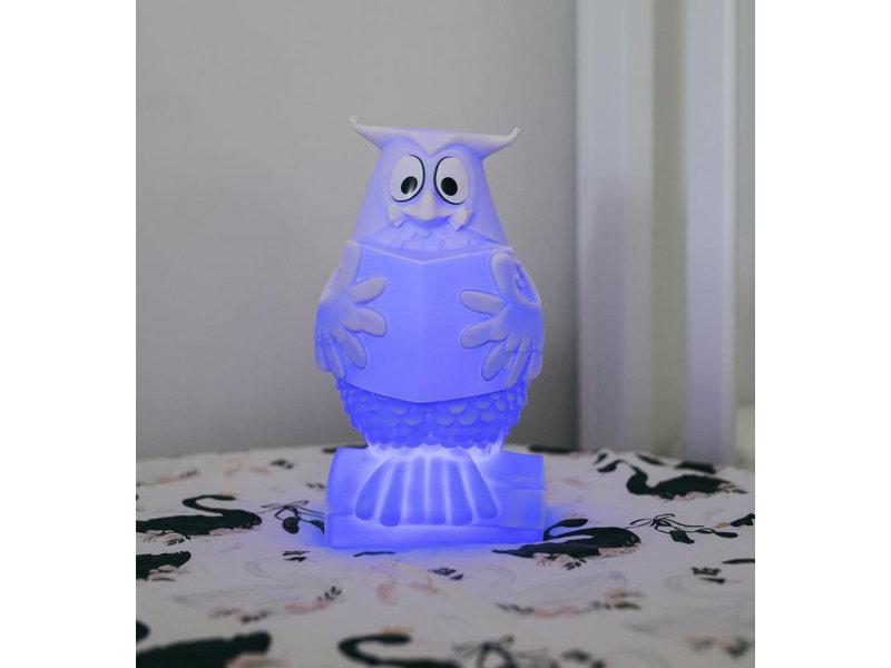 Atelier Pierre Atelier Pierre - Night Light Mr. Owl - USB rechargeable