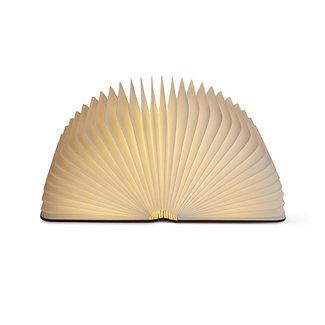 Gingko Smart Book Light - bois de noyer - grand